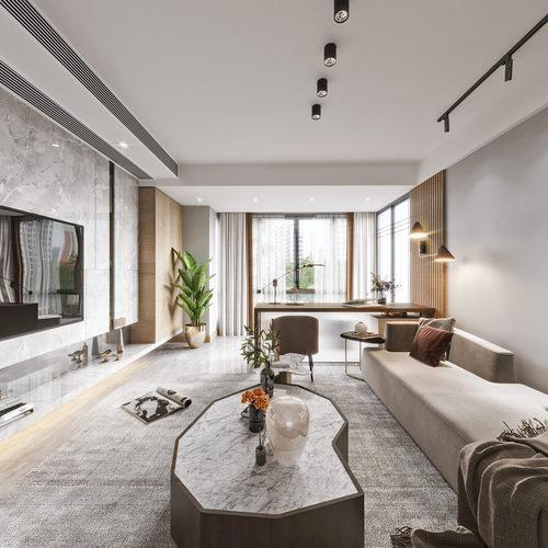现代家装全景分享