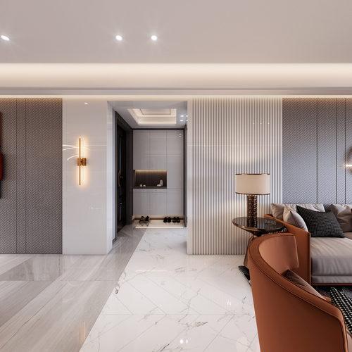 hf01高端现代家装全景